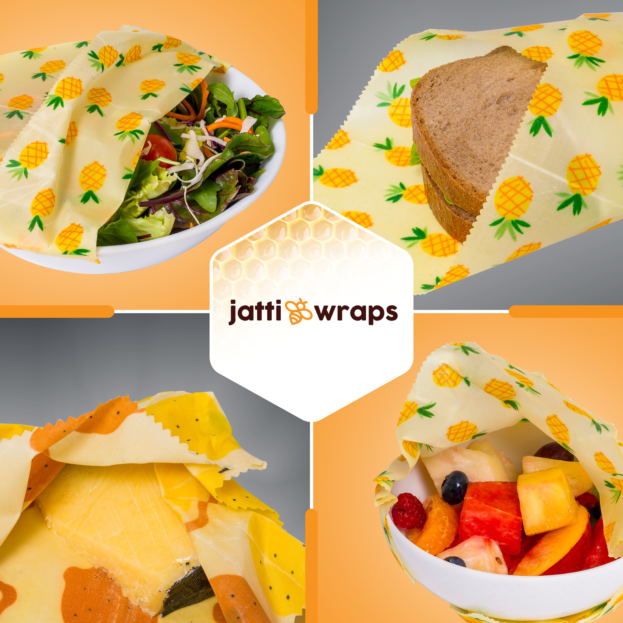 Benefits Of Beeswax Food Wraps - JattiWraps